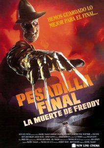 Póster de la película Pesadilla en Elm Street 6: Pesadilla final. La muerte de Freddy
