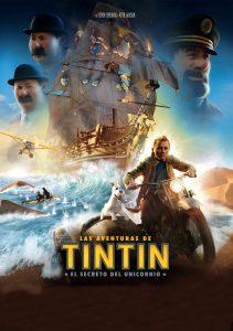 Póster de la película Las aventuras de Tintín: El secreto del unicornio