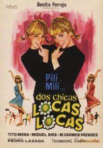Póster de la película Dos chicas locas, locas