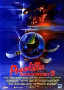 Póster de la película Pesadilla en Elm Street 5: El niño de los sueños