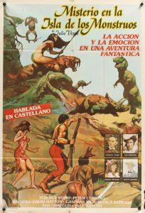 Póster de la película Misterio en la isla de los monstruos