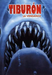 Póster de la película Tiburón, la venganza