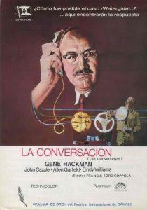 Póster de la película La conversación