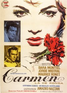 Póster de la película Carmen la de Ronda