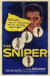 Póster de la película El francotirador (1952)