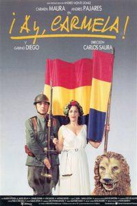 Póster de la película ¡Ay, Carmela!