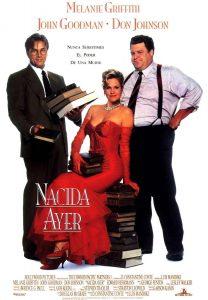 Póster de la película Nacida ayer (1993)