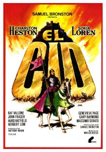 Póster de la película El Cid