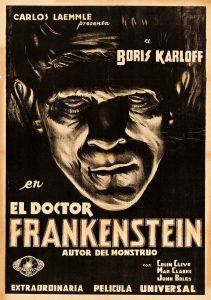Póster de la película El doctor Frankenstein