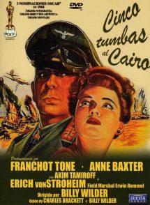 Póster de la película Cinco tumbas al Cairo