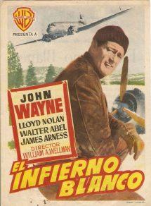 Póster de la película Infierno blanco (1953)