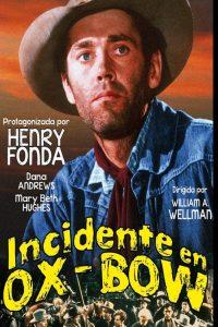 Póster de la película Incidente en Ox-Bow