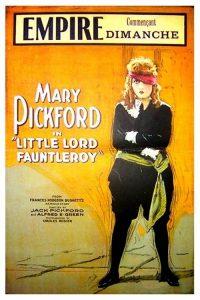 Póster de la película El pequeño Lord Fauntleroy