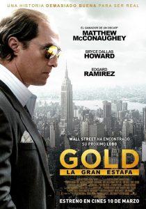 Póster de la película Gold, la gran estafa