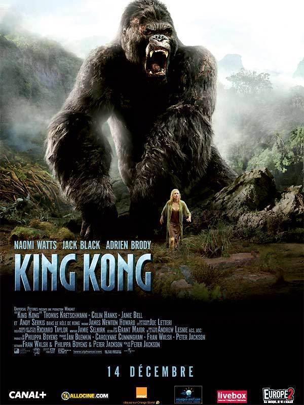 La película King Kong (2005) - el Final de