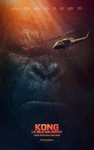 Póster de la película Kong: La isla Calavera