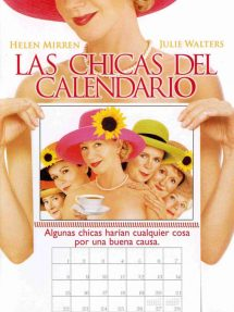Póster de la película Las chicas del calendario