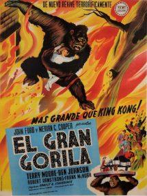 Póster de la película El gran gorila