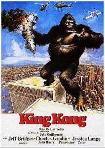 Póster de la película King Kong (1976)