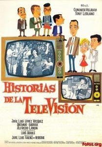 Póster de la película Historias de la televisión