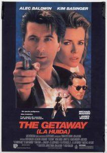 Póster de la película La huida (The Getaway)