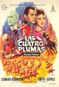 Póster de la película Las cuatro plumas (1939)