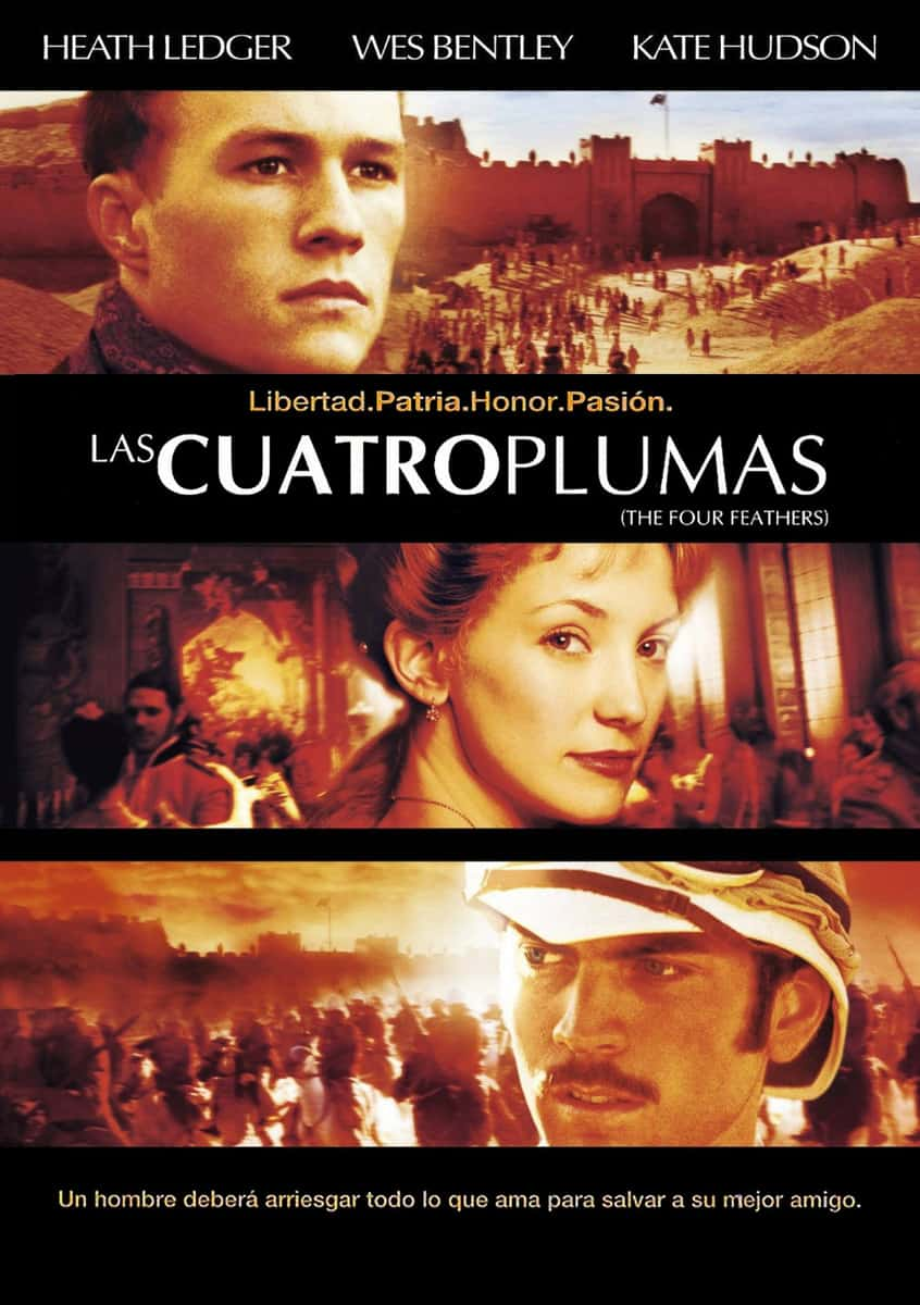 La película Las cuatro plumas (2002) - el Final de