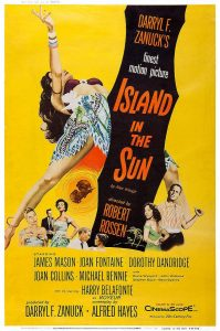 Póster de la película Una isla al sol