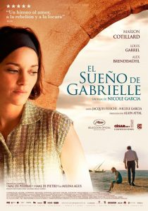 Póster de la película El sueño de Gabrielle