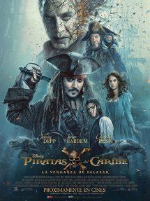 Póster de la película Piratas del Caribe: La venganza de Salazar