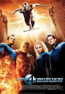 Póster de la película Los 4 fantásticos y Silver Surfer