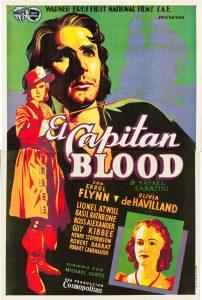 Póster de la película El capitán Blood