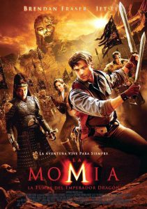 Póster de la película La momia. La tumba del emperador dragón
