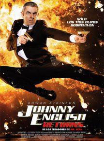 Póster de la película Johnny English returns