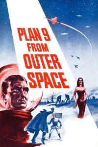 Póster de la película Plan 9 del espacio exterior