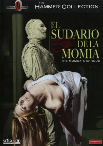 Póster de la película El sudario de la momia