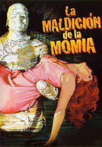 Póster de la película La maldición de la momia