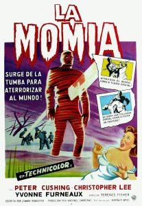 Póster de la película La momia (1959)