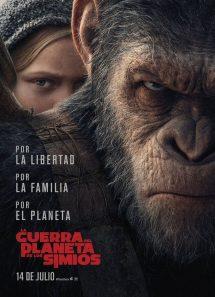 Póster de la película La guerra del planeta de los simios