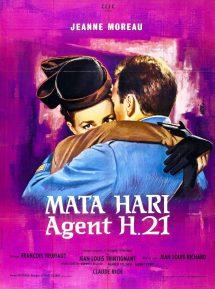 Póster de la película Mata-Hari, agente H-21