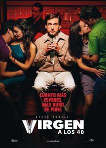 Póster de la película Virgen a los 40