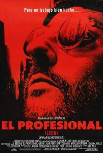 Póster de la película El profesional (Léon)