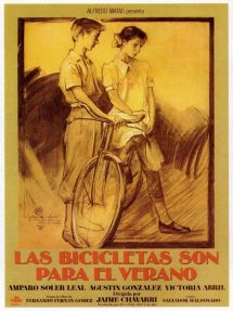Póster de la película Las bicicletas son para el verano