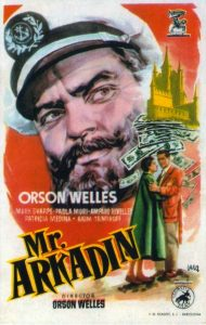 Póster de la película Mister Arkadin