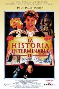 Póster de la película La historia interminable III: Las aventuras de Bastian