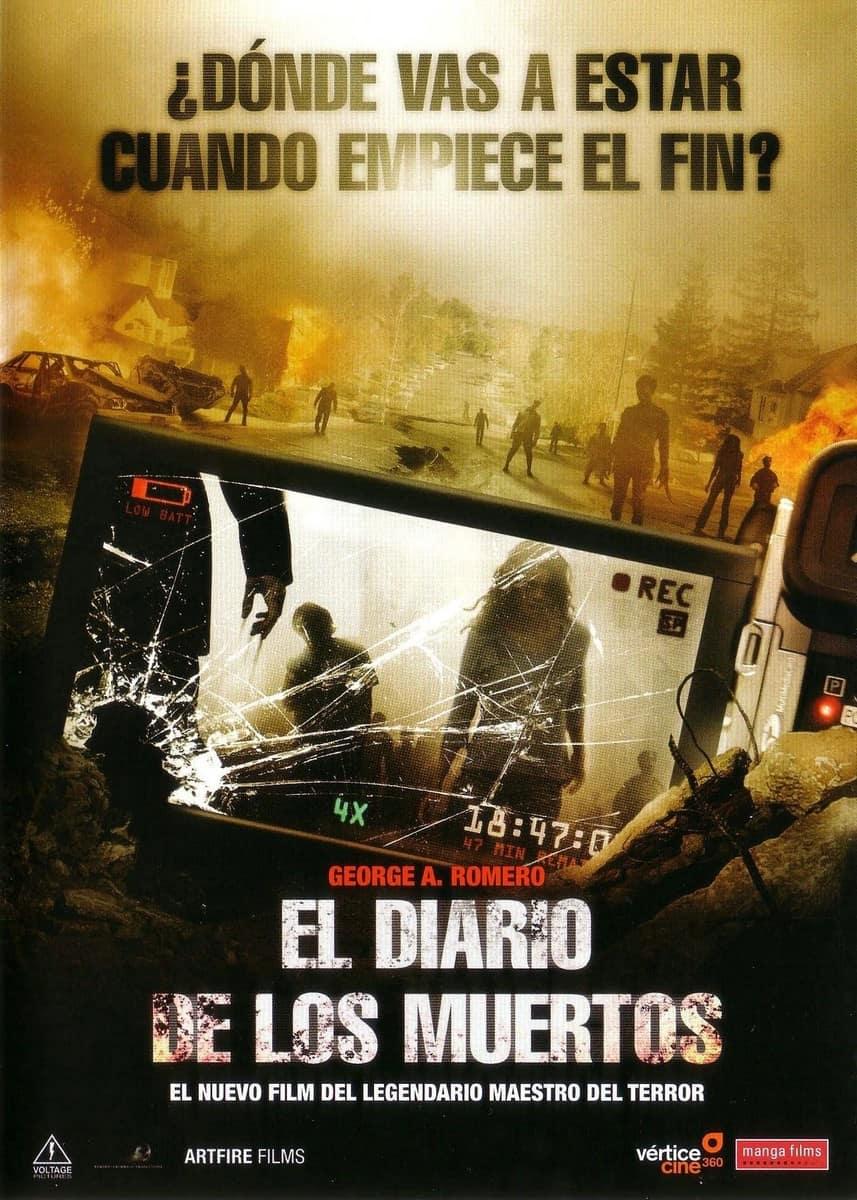 La película El diario de los muertos - el Final de