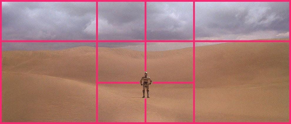El arte de la composición fotográfica en películas y series - 43 - elfinalde