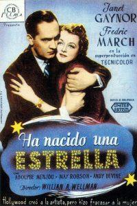 Póster de la película Ha nacido una estrella (1937)
