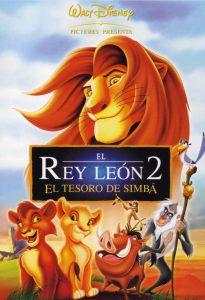 Póster de la película El rey león 2: El tesoro de Simba