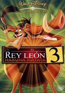 Póster de la película El rey león 3: Hakuna Matata